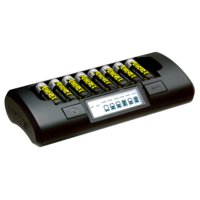 Maha Powerex MH-C801D 8 cell AA/AAA battery charger