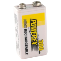 Maha Powerex 8.4V300 9V 300mAh Rechargeable NiMh Battery