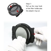 Athabasca ARK Frame Kit 100mm inc Circular Polariser Filter 67 72 77 82 adaptor