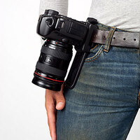 B-grip Innovative Pro Camera Belt Holder Evo Belt Holster for DSLR Camera