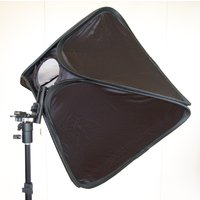 "60cm Portable Flash Softbox Soft box Diffuser 24"" for Speedlight Light Stand Kit"
