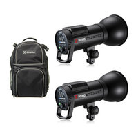 Jinbei HD610 Twin Kit with Backpack