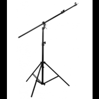 JINBEI MEDIUM ALUMINIUM LIGHT STAND AND BOOM