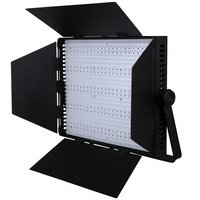 LEDGO 1200 Bi Colour LED Panel with V Lock mount and barn door