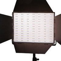 LEDGO 1200 DMX LED PANEL WITH VLOCK BATT FEATURE AND BARN DOORS