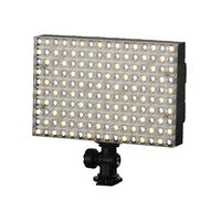 LEDGO 160 LED On Camera Colour Adjustable BiColour LED Panel For Video & Photo inc Battery and Charger