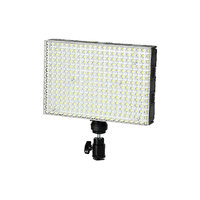 LEDGO 308 LED Colour Adjustable Panel Light For Photography & Video	 inc Batteries and Chargers