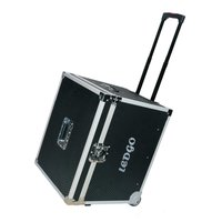 LEDGO metal trolley hard case for 3 LED panels