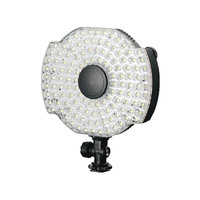 LEDGO 126 LED Microphone Mounted Ring Light For DSLR Video