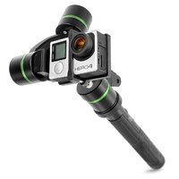 Lanparte Pro gimbal for GoPro with detachable head and remote control