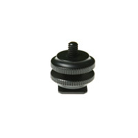 Hotshoe to 1/4 thread adaptor