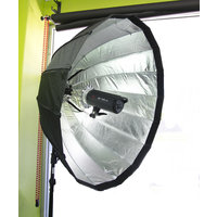 120cm Focusable parabolic softbox kit with Bowens mount