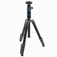 Nest Pioneer Compact Travel DSLR Camera Tripod 235 - Black