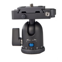 Nest Arca Style alloy ballhead for tripods and monopods