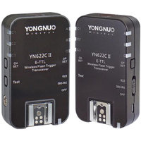 Yongnuo YN622 II Wireless Canon eTTL flash transceiver pair