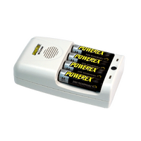 Maha Powerex MH-C204W Travel AA/AAA Battery Charger