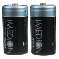 Powerex IMEDION Rechargable 5000mAh C Batteries