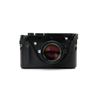 Artisan and Artist LMB-MPM Black Leather camera half case for Leica M