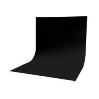 Easiframe® Curved Black Fabric Backdrop Skin and Frame Kit