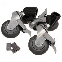 Jinbei Castor wheel kit of 3 wheels for light stands