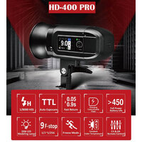Jinbei HD400 PRO TTL Battery Flash with RT control