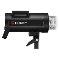 Jinbei HD610PRO TTL Battery Flash 600ws with HSS and Fast flash duration.