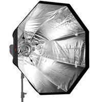Jinbei 120cm Quick Fold Octagonal Umbrella Soft Box Bowens S Mount