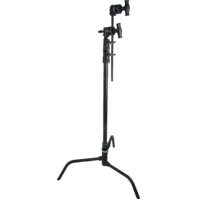 "Kupo CT-20MKB 20"" Black Master C-Stand Kit with Quick Release Base"