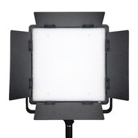 LEDGO 600 LED Light Panel with V-Lock Battery Mount and Barn Doors