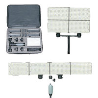 LEDGO 4x 150 LED Kit For Video & Photography Inc. Bag, Batteries & Charger