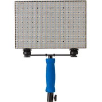 LEDGO 560 LED variable colour panel with battery, charger and bag