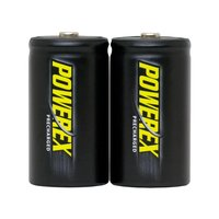 Maha Powerex Precharged D cell 10000 mAh 2 pack batteries