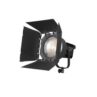 Nanlite Forza 500 Fresnel adaptor and Barn doors