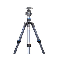 DSLR Digital Camera Aluminum Leg Blue Grey Travel Tripod NEST NT-6264AK