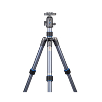 DSLR Digital Camera Aluminum Leg Blue Grey Travel Tripod NEST NT-6294AK