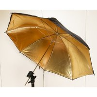 Gold Reflective flash Umbrella 40 inch 100cm