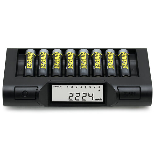 Maha Powerex MH-C980 Turbo Eight AA/AAA Battery Charger Analyser