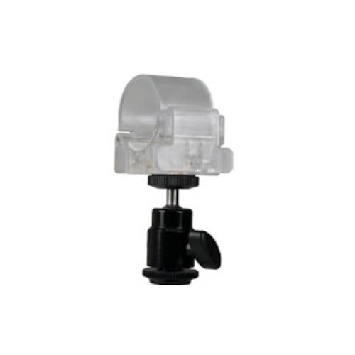 Nanlite Pavotube mounting clip with mini ballhead