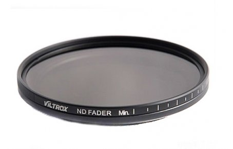 ND Fader Neutral Density Filter ND2-ND400 for 72mm Thread
